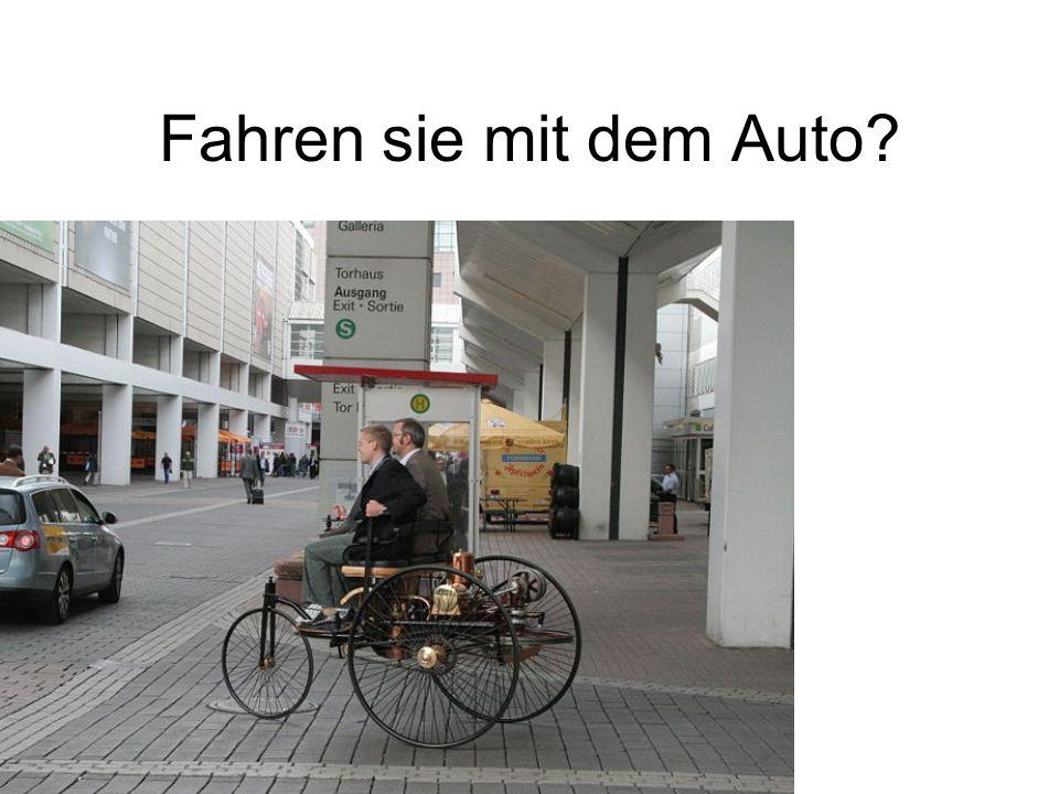 Fahren sie mit dem Auto