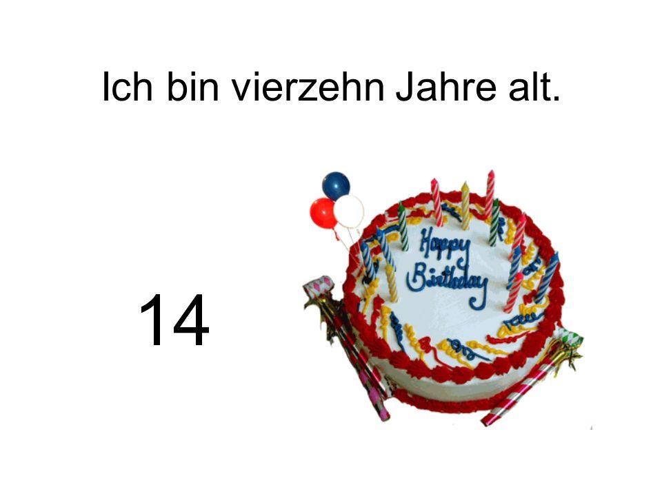 Wie alt ist Klaus? 17