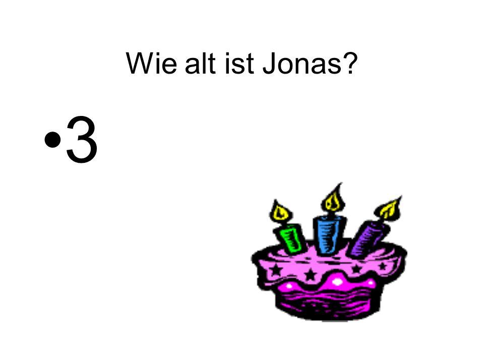 Wie alt ist Jonas? 3