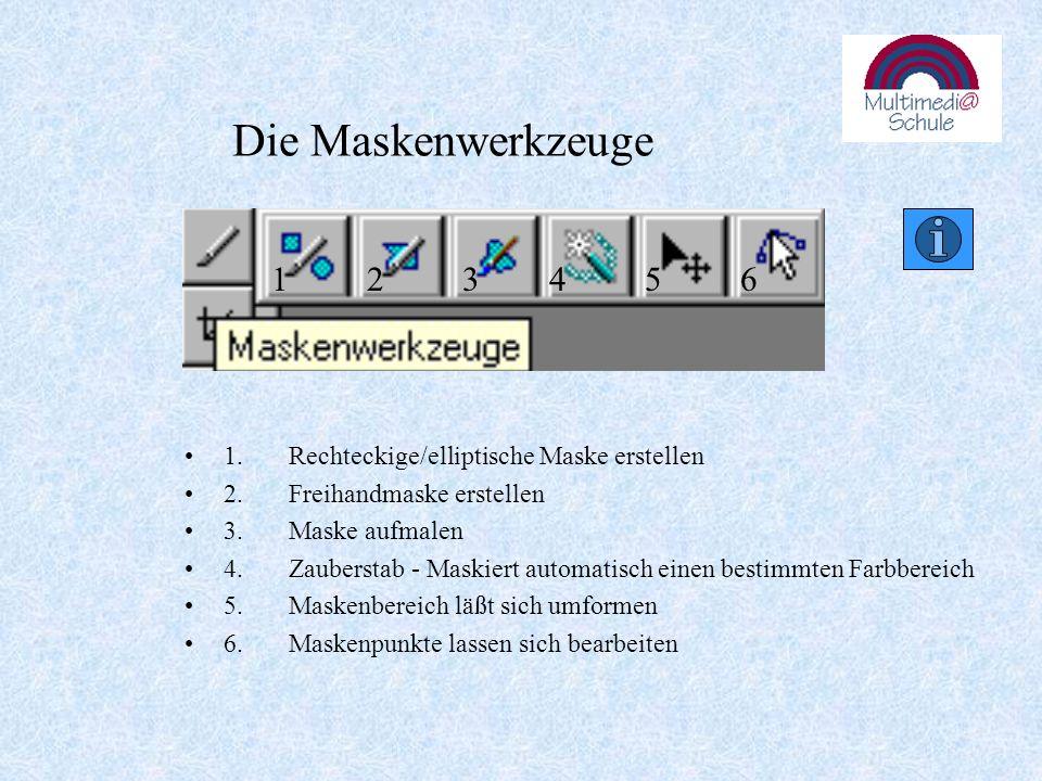 Die Maskenwerkzeuge 1.