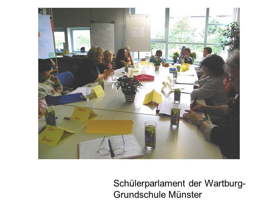 Schülerparlament der Wartburg- Grundschule Münster