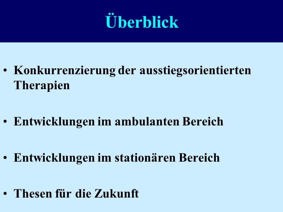 Jubiläumsveranstaltung der Stiftung Institut für Sozialtherapie Egliswil 03.09.2004 Stellenwert der ausstiegsorientierten Suchttherapie in der Schweiz