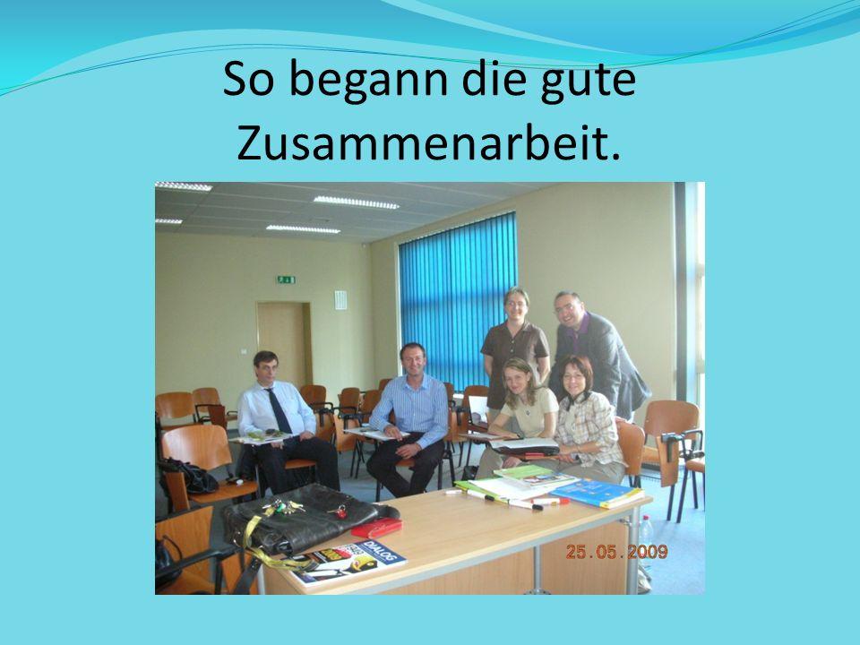 Und es ging los! Treffen in Österreichbibliothek
