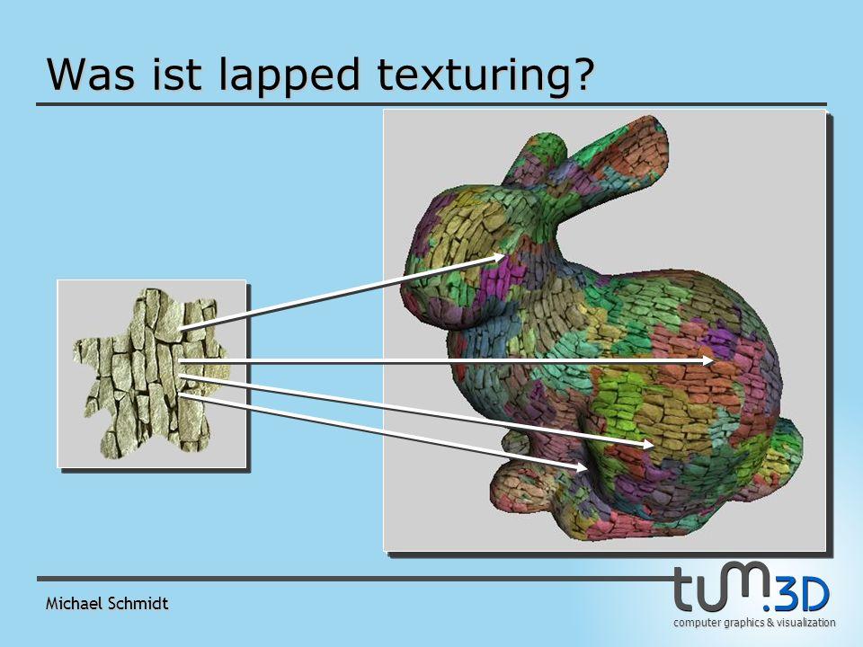 computer graphics & visualization Michael Schmidt Implementation 1.