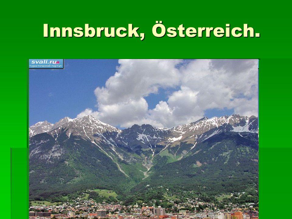 Innsbruck, Österreich. Innsbruck, Österreich.
