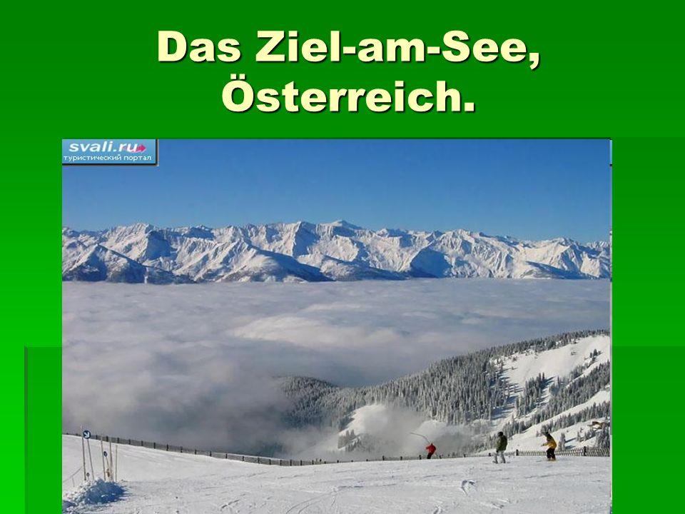 Das Ziel-am-See, Österreich.