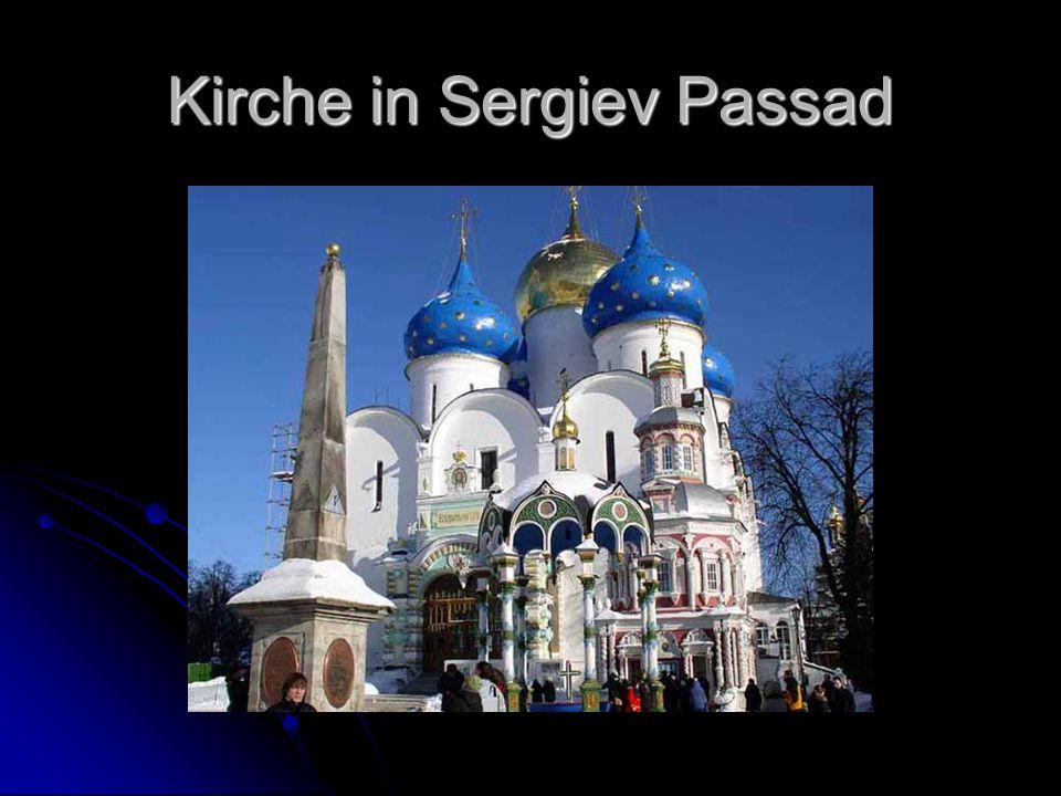 Kirche in Sergiev Passad