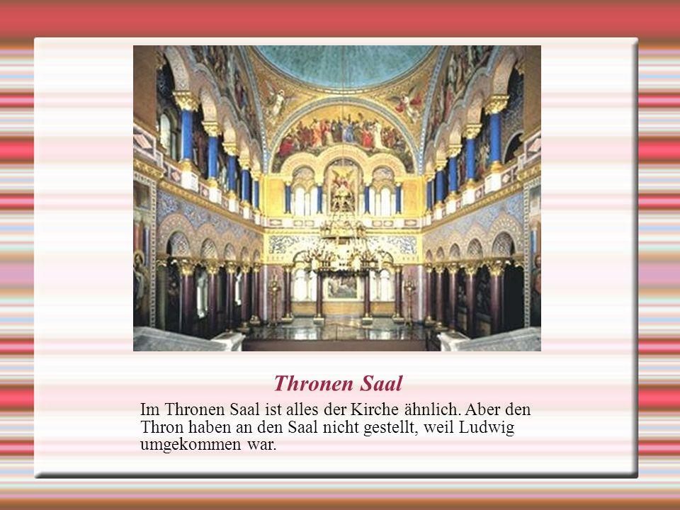 Thronen Saal Im Thronen Saal ist alles der Kirche ähnlich.