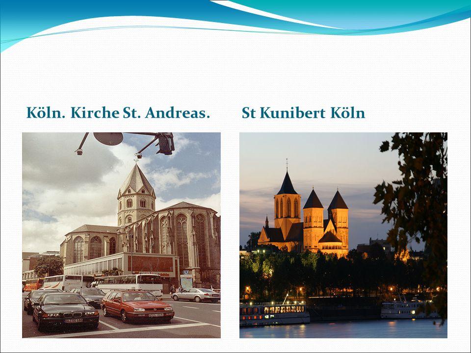 Köln. Kirche St. Andreas. St Kunibert Köln