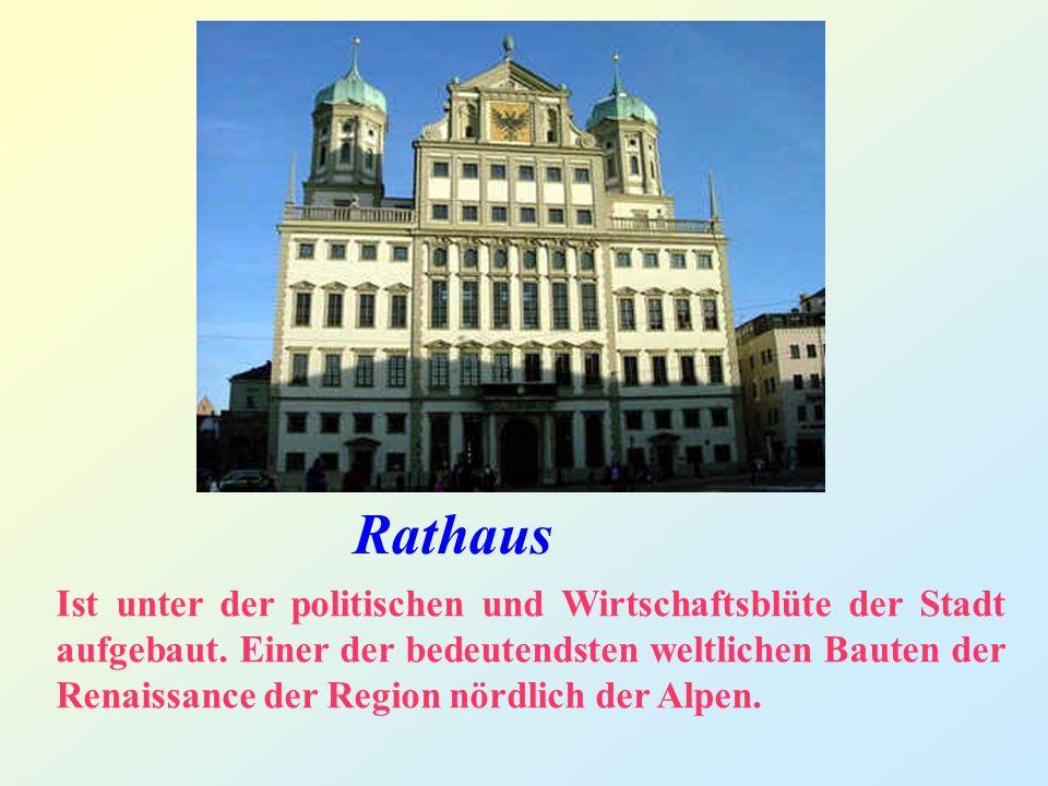 Rathaus Ist unter der politischen und Wirtschaftsblüte der Stadt aufgebaut.