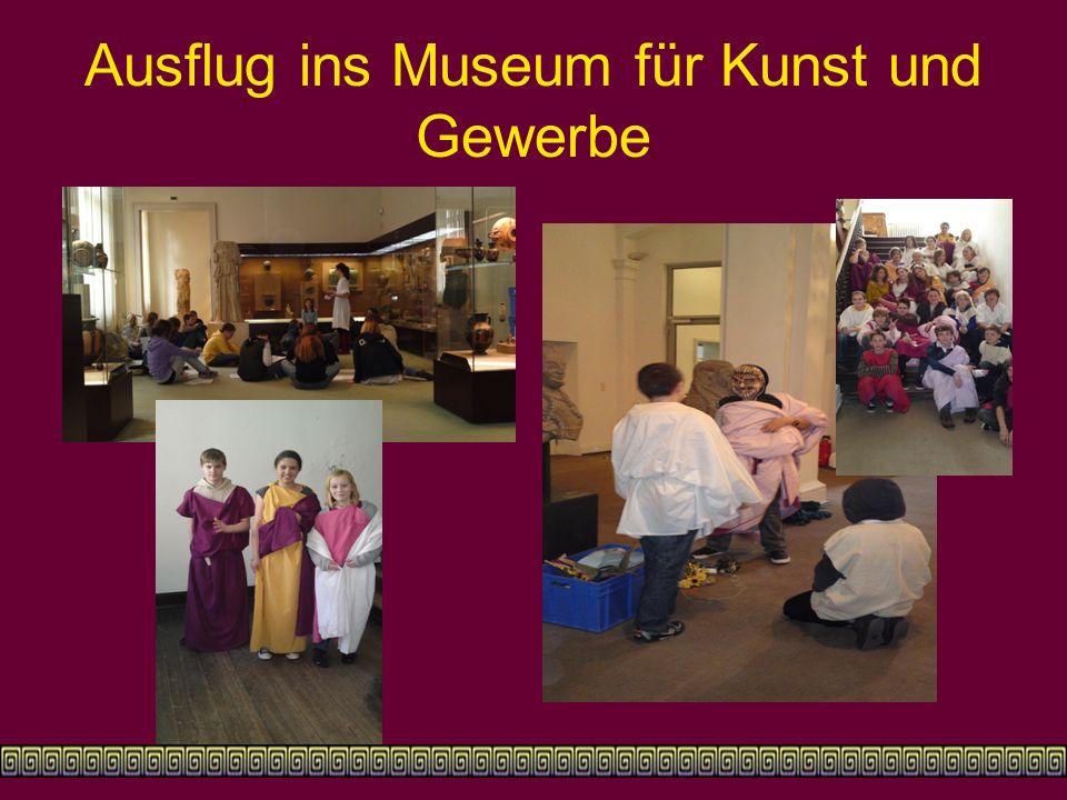 Ausflug ins Museum für Kunst und Gewerbe