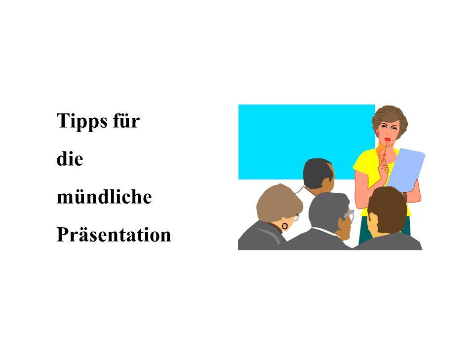 1.Begrüßung 2.sich vorstellen 3.das Thema und den Anlass kurz erläutern aktuelles Beispiel/Bezug als Aufhänger 4.den Ablauf erläutern (advanced organizer) 5.die Regeln für die Zuhörer nennen (z.B.