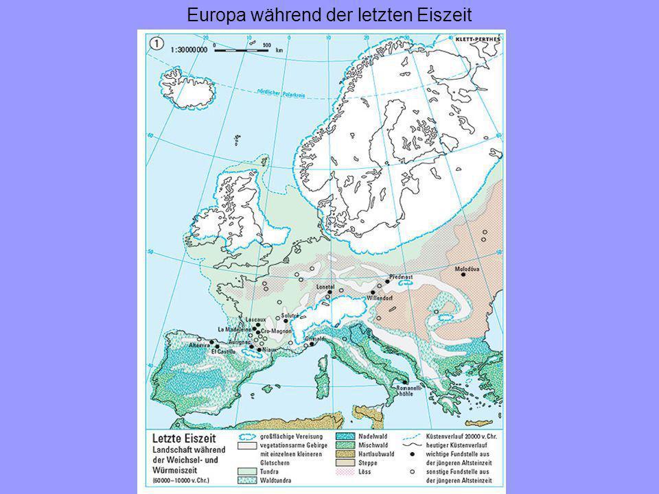 Europa während der letzten Eiszeit