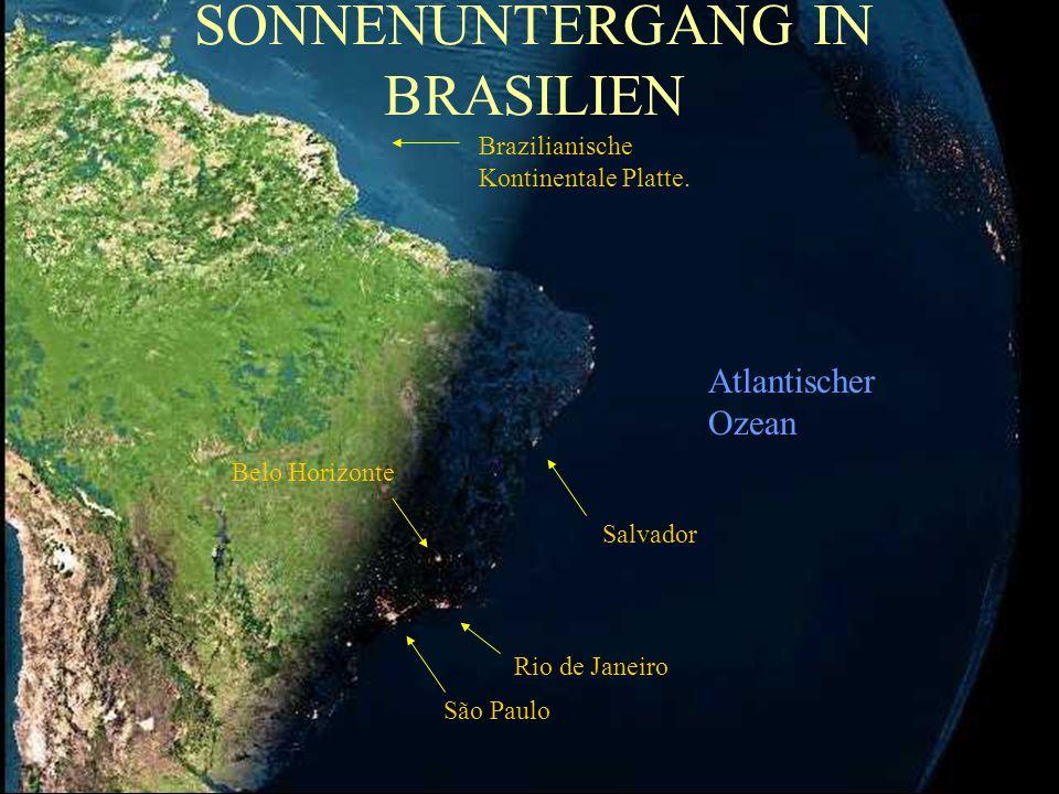 Frankreich Grönland Italien KontinentalePlatte England AFRIKA Hier ist gerade Nacht. Spanien Atlantischer Ozean Kap Verdische Inseln Kanarische Inseln