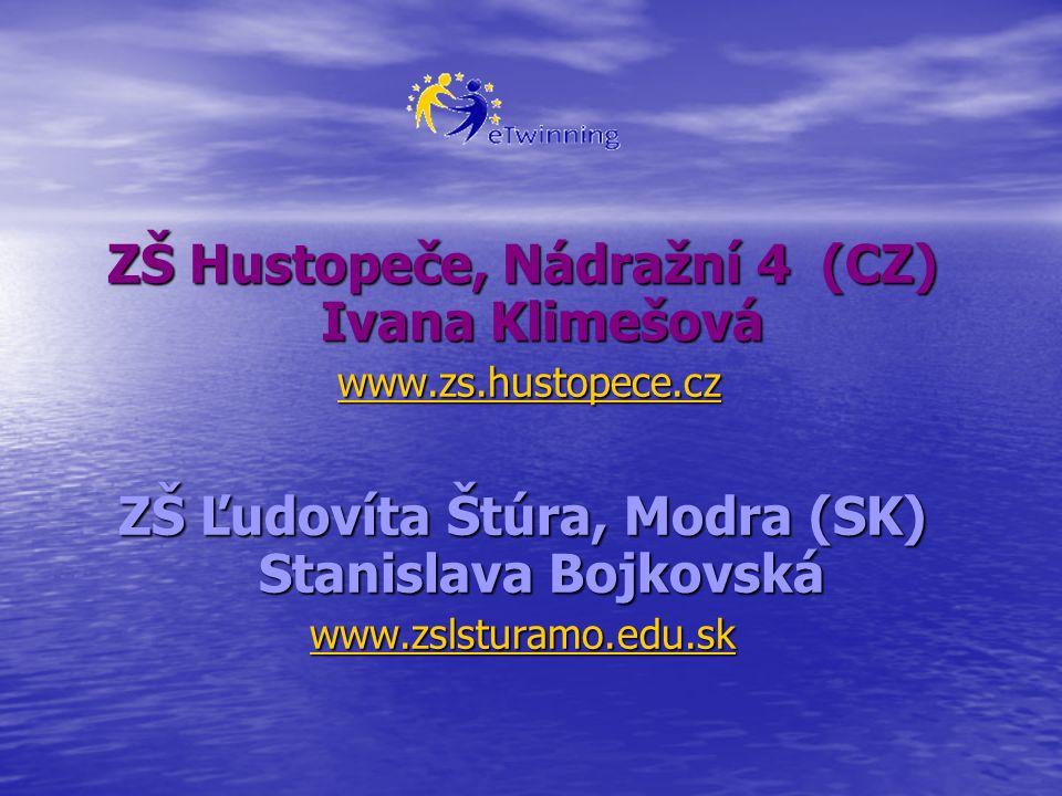 ZŠ Hustopeče, Nádražní 4 (CZ) Ivana Klimešová w w w w w wwww wwww....