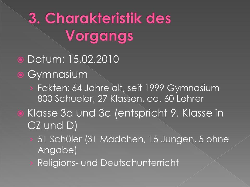 Datum: 15.02.2010 Gymnasium Fakten: 64 Jahre alt, seit 1999 Gymnasium 800 Schueler, 27 Klassen, ca.