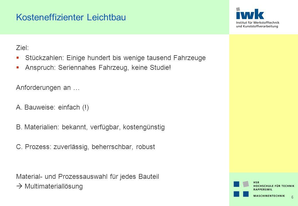 7 Trend - Multimaterialbauweise Quelle: Volkswagen 2002