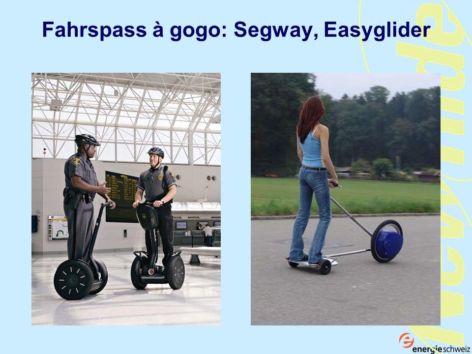 Fuel cell-scooter Fahrspass à gogo: Segway, Easyglider