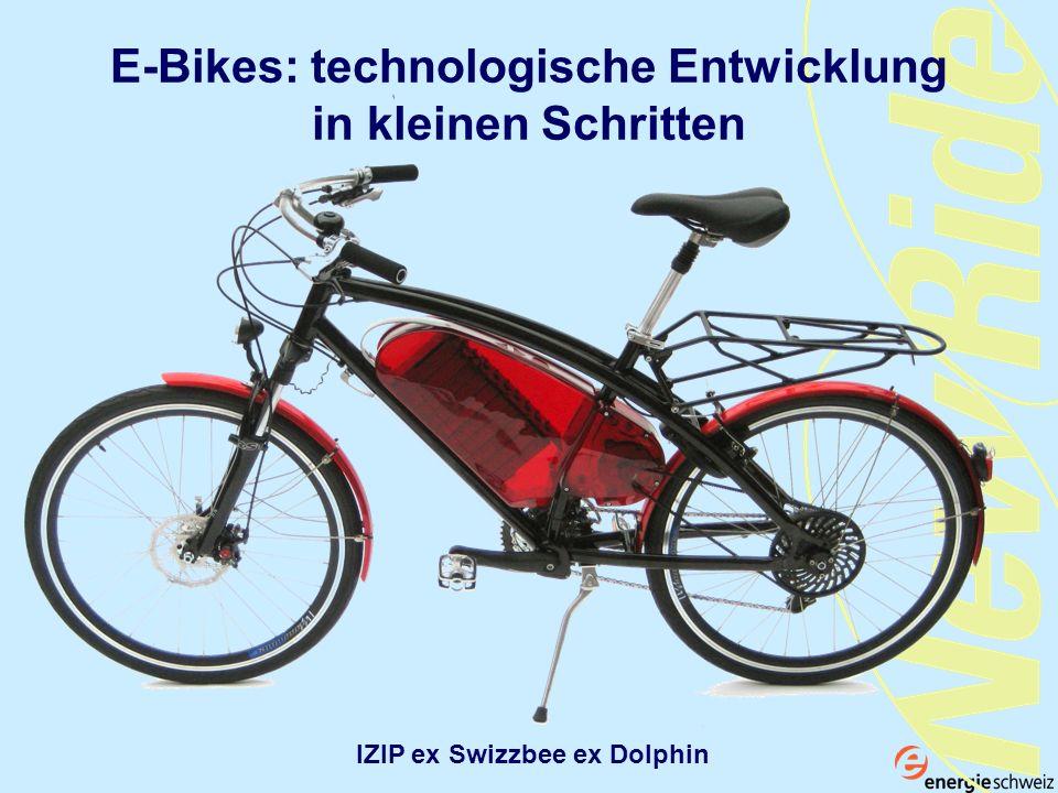E-Bikes: technologische Entwicklung in kleinen Schritten IZIP ex Swizzbee ex Dolphin