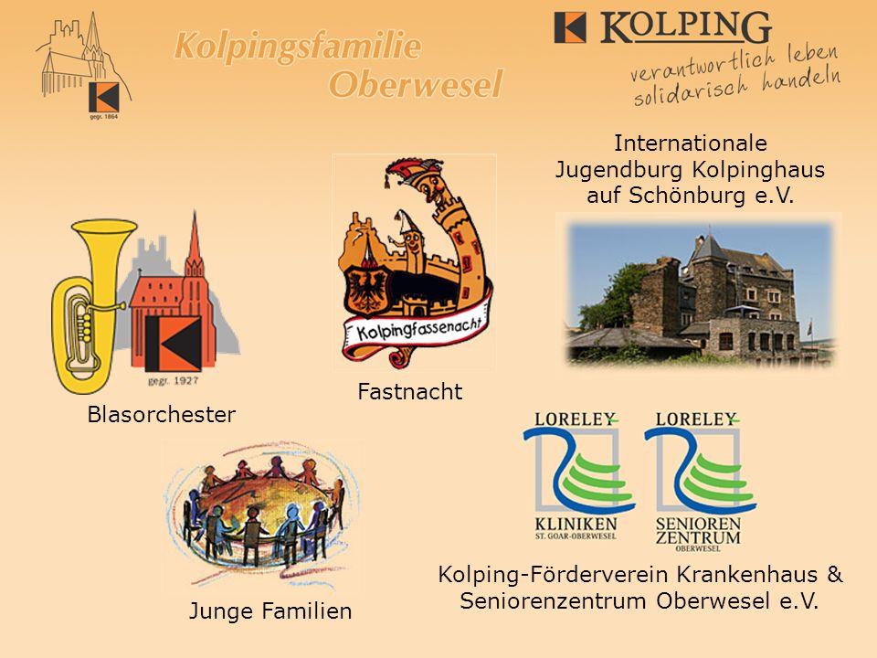 Blasorchester Fastnacht Internationale Jugendburg Kolpinghaus auf Schönburg e.V. Kolping-Förderverein Krankenhaus & Seniorenzentrum Oberwesel e.V. Jun