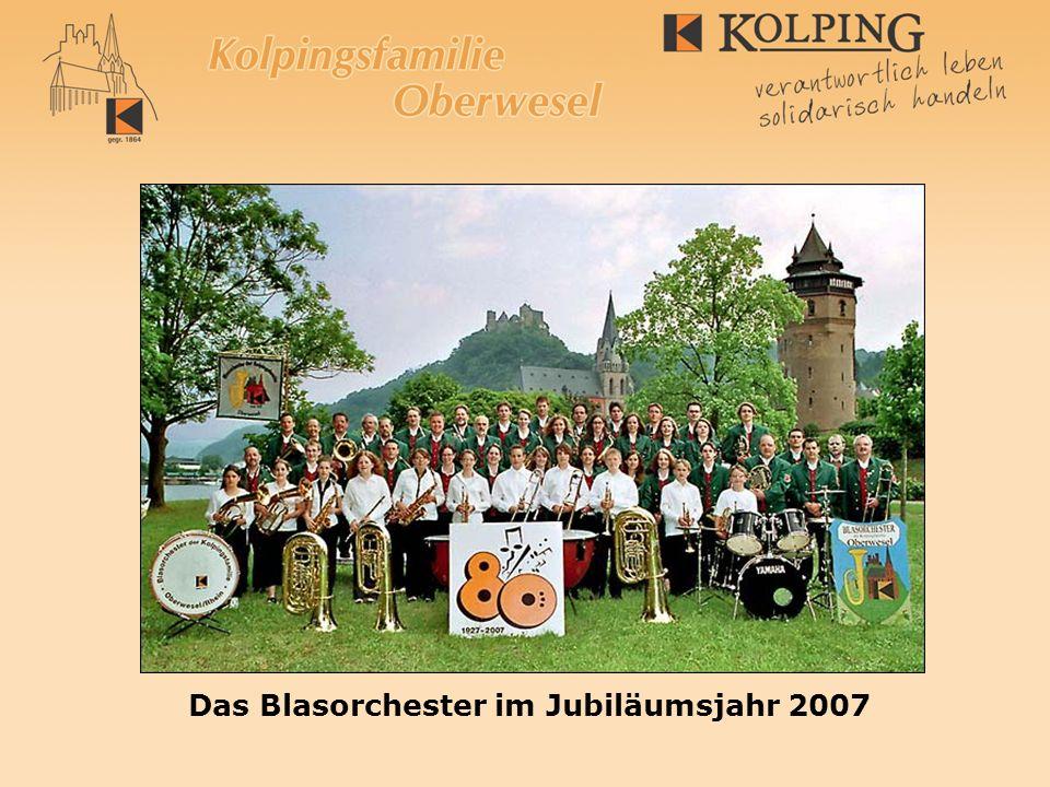 Das Blasorchester im Jubiläumsjahr 2007