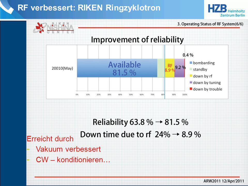 RF verbessert: DALINAC Temp.sensor auf RF Regelkarte