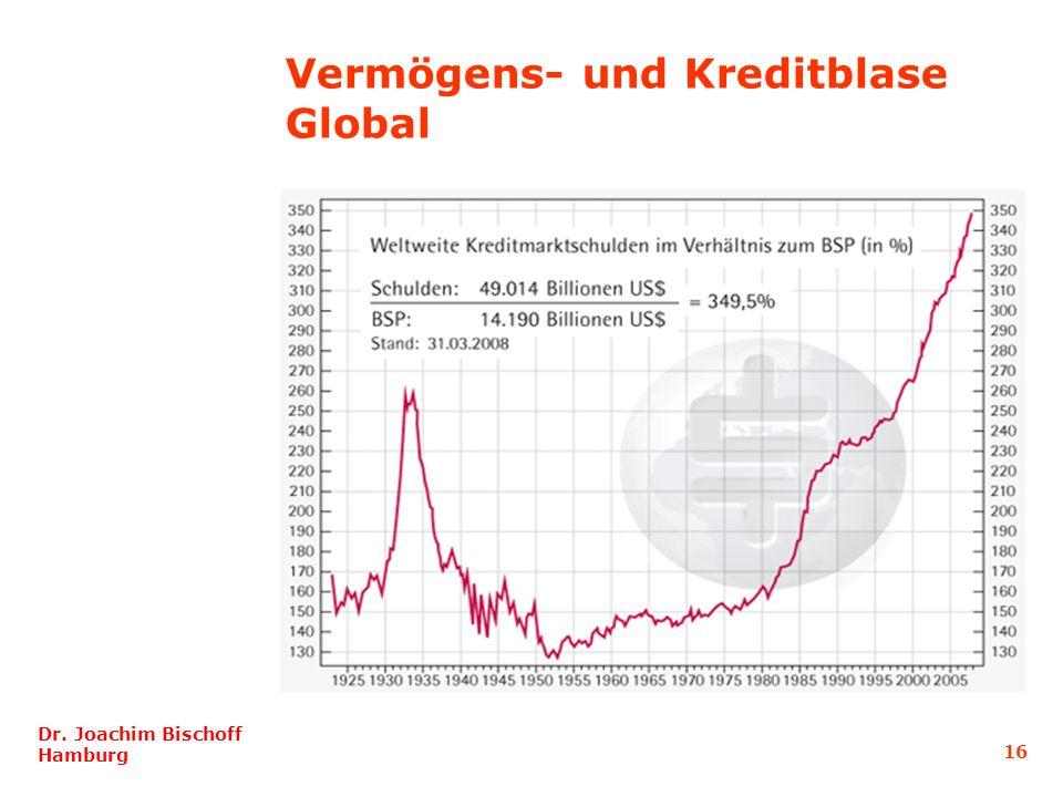 16 Dr. Joachim Bischoff Hamburg Vermögens- und Kreditblase Global