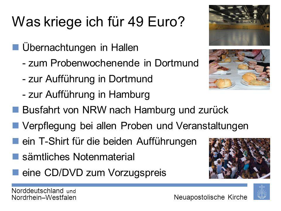 Seite 7 von X Neuapostolische Kirche International Thema | 20.01.2011 | Was kriege ich für 49 Euro? Übernachtungen in Hallen - zum Probenwochenende in