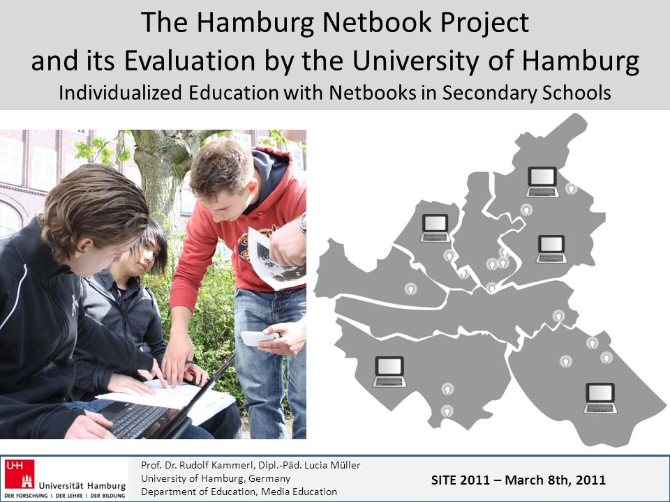 Prof. Dr. Rudolf Kammerl, Dipl.-Päd. Lucia Müller University of Hamburg, Germany Department of Education, Media Education The Hamburg Netbook Project
