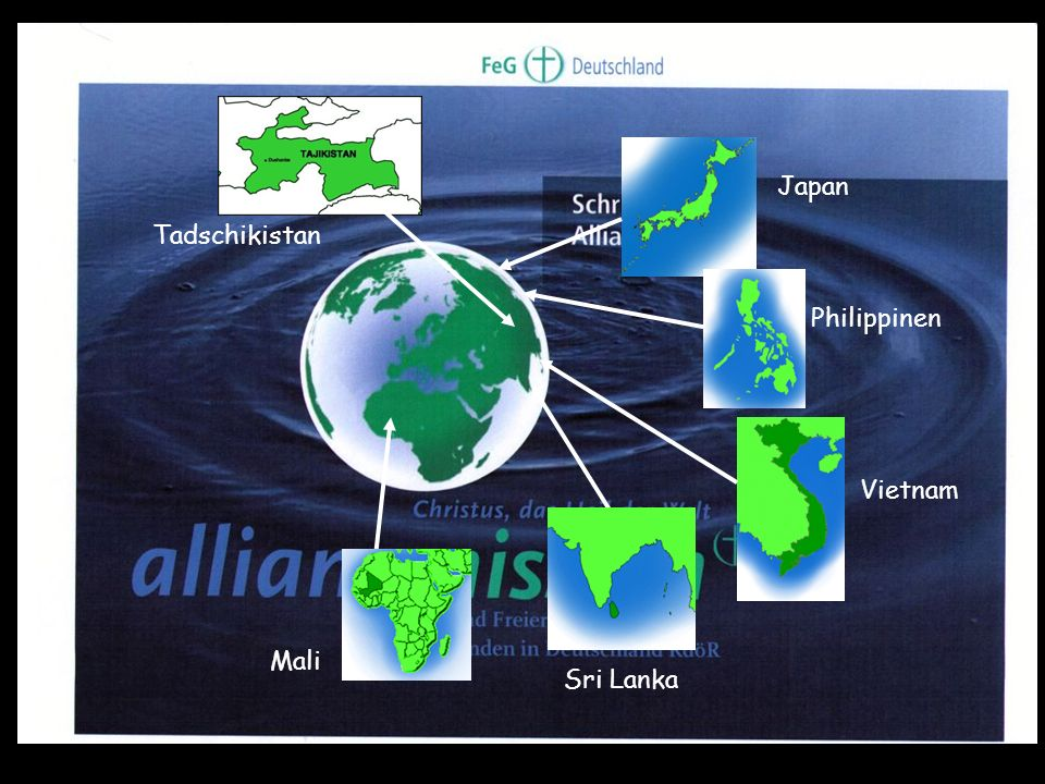 Tadschikistan JapanPhilippinen Vietnam Sri Lanka Mali