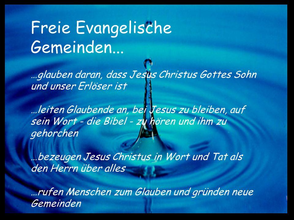 Freie Evangelische Gemeinden...