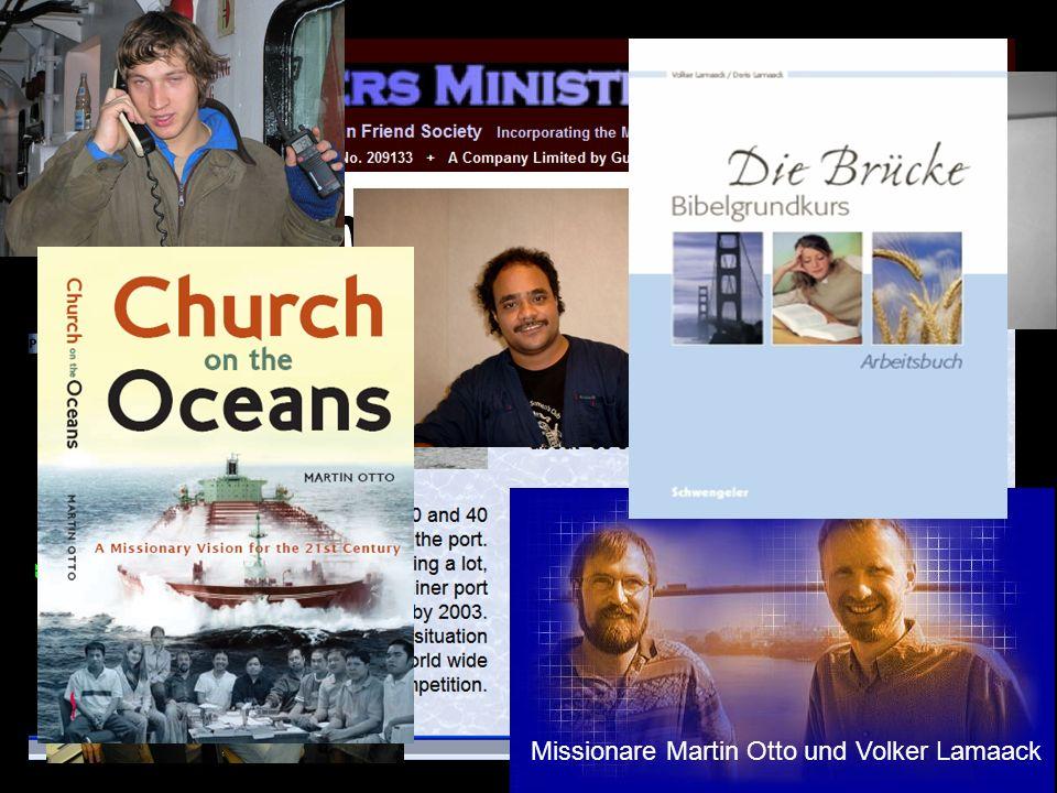 Seemannsmission Hamburg Missionare Martin Otto und Volker Lamaack