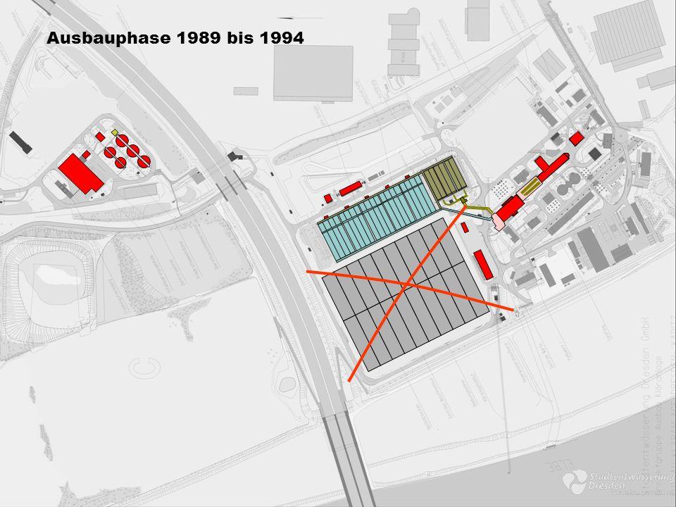Ausbauphase 1989 bis 1994