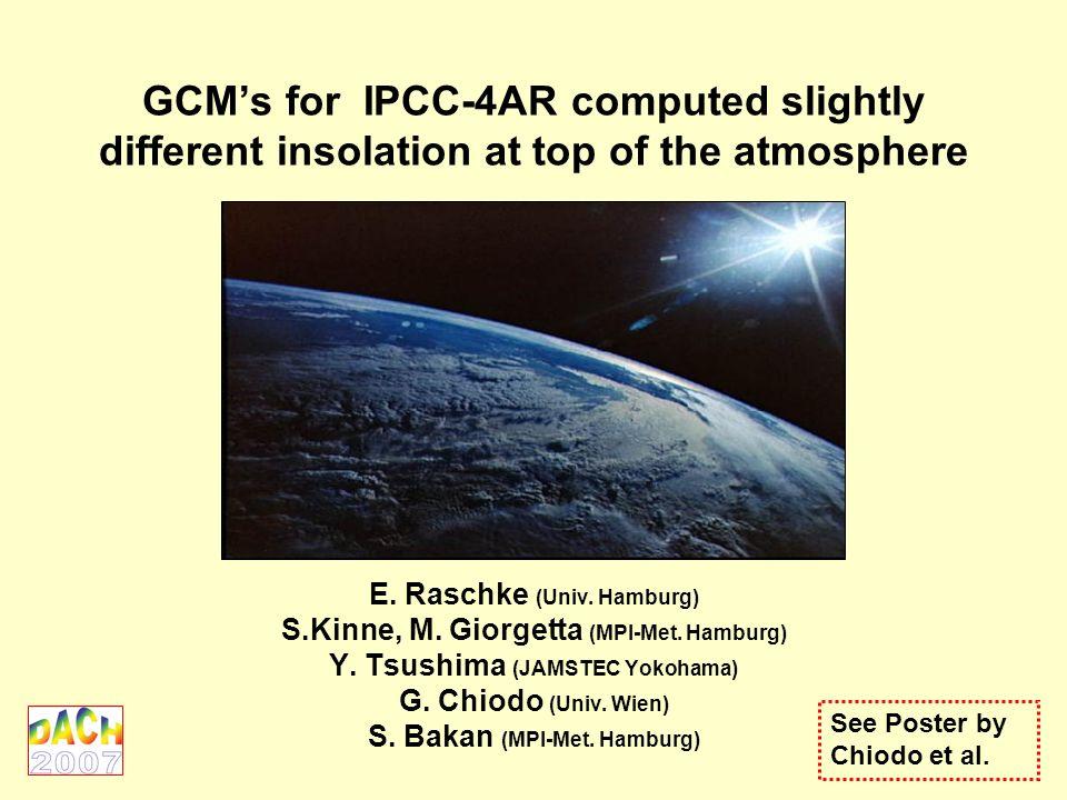 Eigentlich sollte es sehr einfach sein die Einstrahlung der Sonne zu jedem Zeitpunkt über jedem Gebiet der Erde zu berechnen!