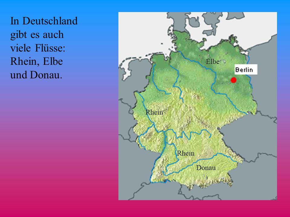 Der größte See in Deutschland ist der Bodensee. Bodensee