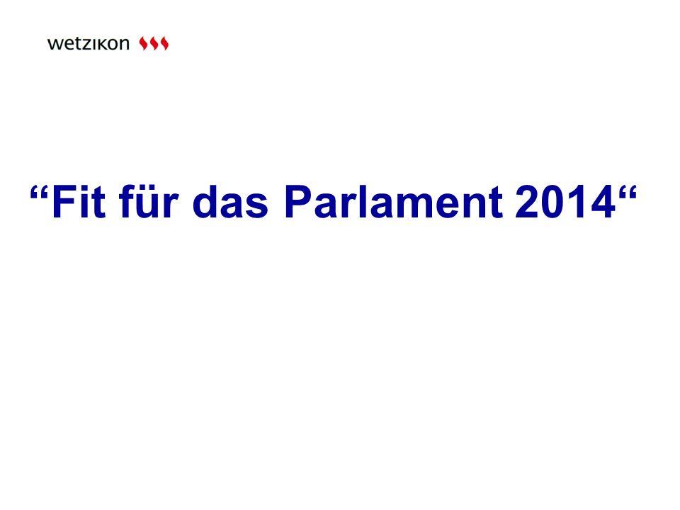 Fit für das Parlament 2014