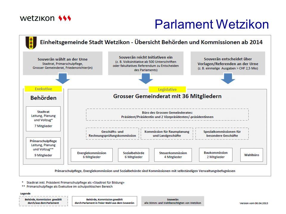 Parlament Wetzikon