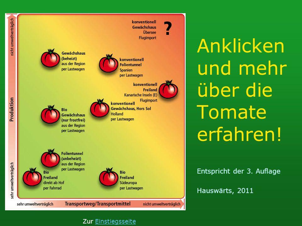 Bio Suisseumweltverträgliche Produktion Freiland (für Tomaten klimabedingt ungünstig) keine Fremdenergie direkt ab HofTransportweg kurz per Fahrradumweltverträgliches Transportmittel Zur TomatenauswahlTomatenauswahlZur Einstiegsseite