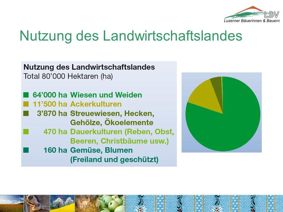 Nutzung des Landwirtschaftslandes
