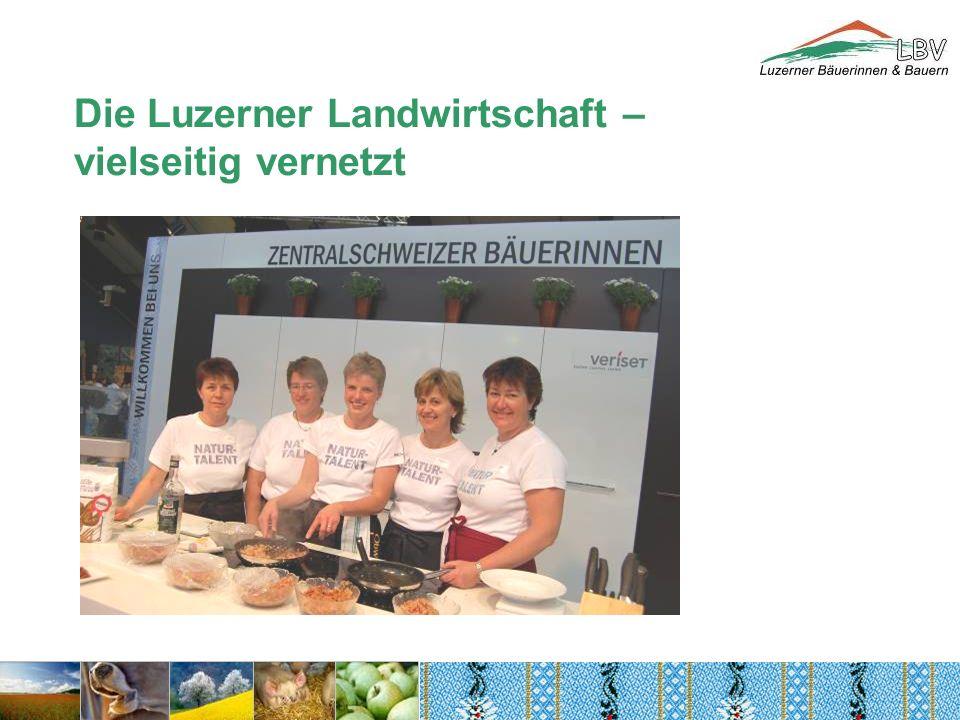Die Luzerner Landwirtschaft – vielseitig vernetzt