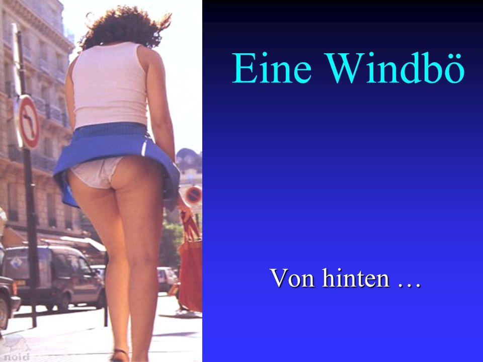Nicht doch !! Man zieht auch nicht so ein kurzes Mini-Röckchen bei derart windigem Wetter an !