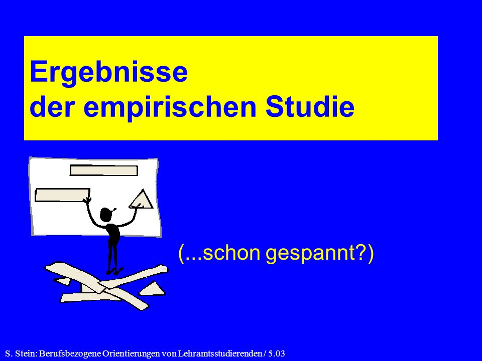 Ergebnisse der empirischen Studie S.
