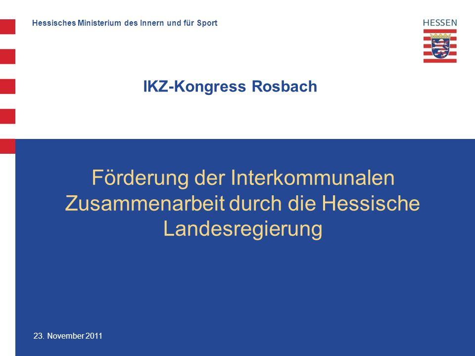 Hessisches Ministerium des Innern und für Sport 23.