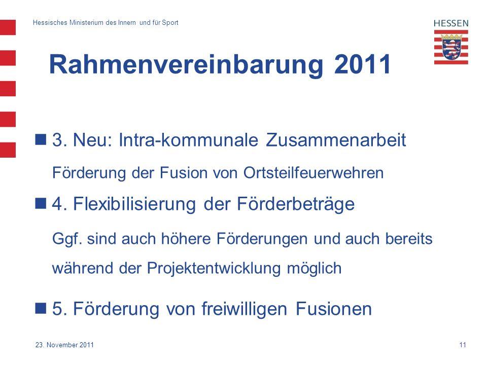 11 Hessisches Ministerium des Innern und für Sport 23.