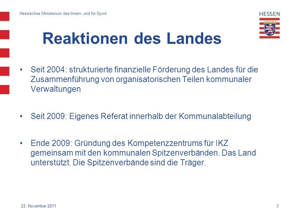 3 Hessisches Ministerium des Innern und für Sport 23.