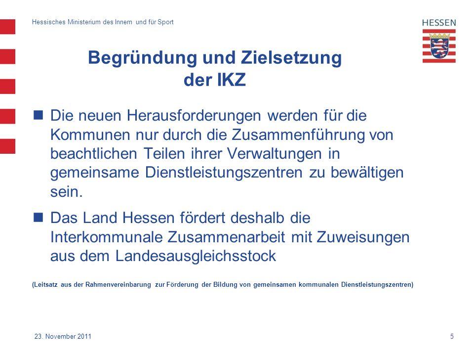5 Hessisches Ministerium des Innern und für Sport 23.