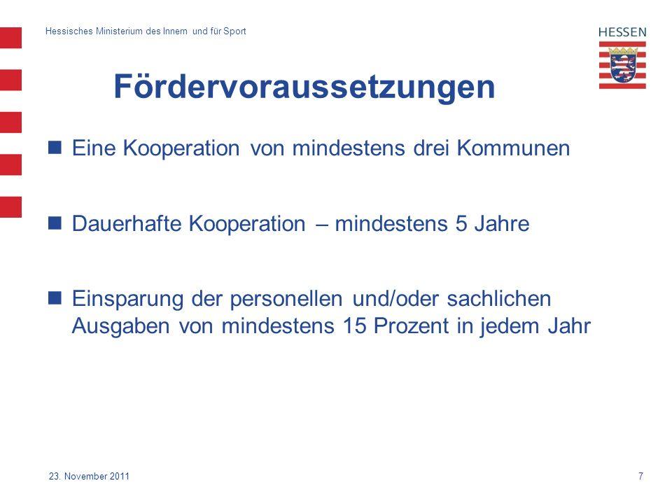 7 Hessisches Ministerium des Innern und für Sport 23.