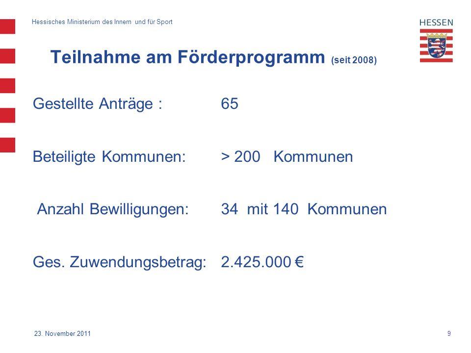 9 Hessisches Ministerium des Innern und für Sport 23.