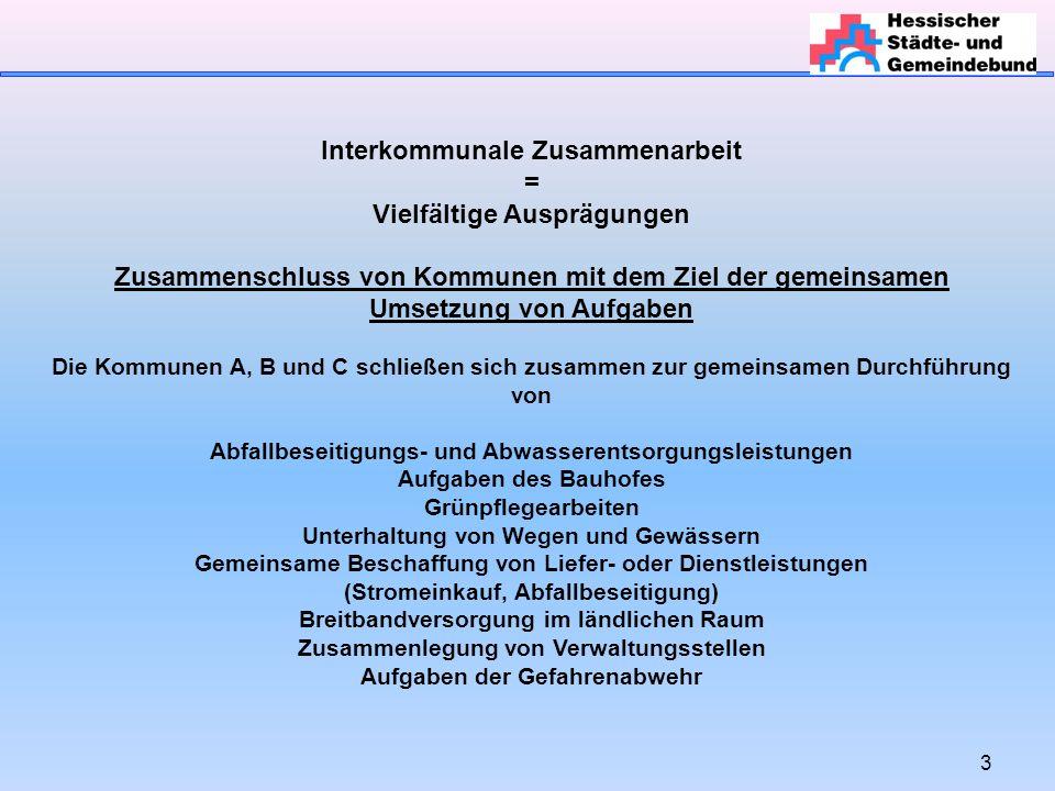24 Interkommunale Zusammenarbeit Wann muss eine innerstaatliche (haushaltsrechtliche) oder eine europaweite Ausschreibung erfolgen.