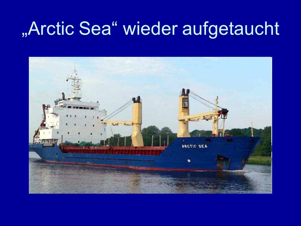 Arctic Sea wieder aufgetaucht